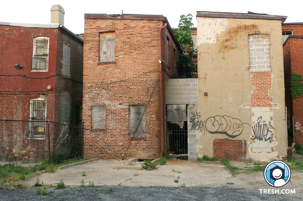 Four vacant homes owned by Shiloh Baptist church have been condemned by the D.C. Department of Consumer and Regulatory Affairs. The red brick properties are 1528, 1532, 1534 and 1536 Ninth St. NW.