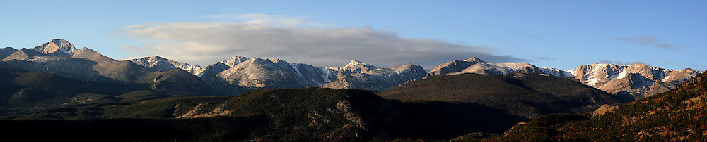 Rocky Mountain National Park Panorama, Colorado