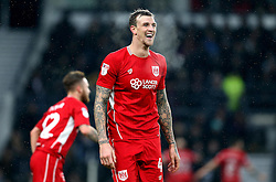 Aden Flint of Bristol City - Mandatory by-line: Robbie Stephenson/JMP - 11/02/2017 - FOOTBALL - iPro Stadium - Derby, England - Derby County v Bristol City - Sky Bet Championship