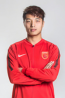 **EXCLUSIVE**Portrait of Chinese soccer player Gui Hong of Hebei China Fortune F.C. for the 2018 Chinese Football Association Super League, in Marbella, Spain, 26 January 2018.