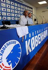 20110530 FC København, Presenting Coach  Roland Nilsson