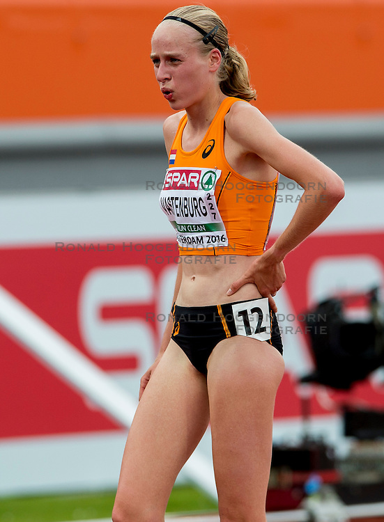 06-07-2016 NED: European Athletics Championships, Amsterdam<br /> Jip Vasterburg NED