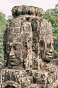 Buddha Statue in Bayon Temple, Angkor Thom of Siem Reap Cambodia