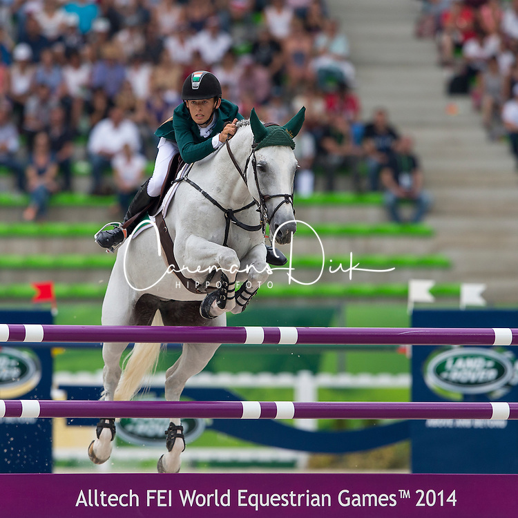 Bertram Allen, (IRL), Molly Malone V - World Champions, - Second Round Team Competition - Alltech FEI World Equestrian Games&trade; 2014 - Normandy, France.<br /> &copy; Hippo Foto Team - Leanjo De Koster<br /> 25/06/14