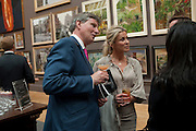 SAMANTHA CONOLLY; JOHN CONNOLLY, Royal Academy of Arts Summer Exhibition Preview Party 2011. Royal Academy. Piccadilly. London. 2 June <br /> <br />  , -DO NOT ARCHIVE-© Copyright Photograph by Dafydd Jones. 248 Clapham Rd. London SW9 0PZ. Tel 0207 820 0771. www.dafjones.com.