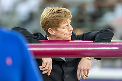 EHNING Marcus (GER)<br /> Doha - CHI Al SHAQAB 2020<br /> Impression Parcoursbesichtigung<br /> Commercial Bank CHI Al Shaqab Grand Prix presented by LONGINES<br /> Int. jumping competition over two rounds and jump-off (1.60 m)<br /> 29. Februar 2020<br /> © www.sportfotos-lafrentz.de/Stefan Lafrentz