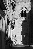 Portugal. Lisbon. Cathedral da Se . Alfama district / le quartier de l'alfama . Lisbonne