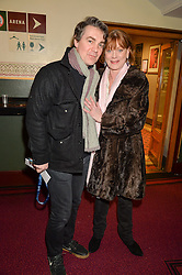 SAMANTHA BOND and ALEXANDER HANSON at the opening night of Amaluna by Cirque Du Soleil at The Royal Albert Hall, London on 19th January 2016.