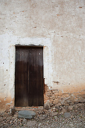 """Door 3"" -This old wooden door was photographed in the small mountain town of San Sebastian, Mexico."