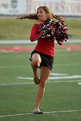 02 September 2017:   Redline Dancer during the Butler Bulldogs at  Illinois State Redbirds Football game at Hancock Stadium in Normal IL (Photo by Alan Look)