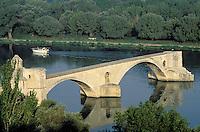 France - Provence - Vaucluse - Avignon - Pont St. Benezet