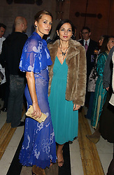 Left to right, model YASMIN LE BON and YASMIN MILLS at the 2005 Lancome Colour Design Awards in association with CLIC Sargent Cancer Care for Children held at the Freemasons' Hall, Great Queen Street, London on 23rd November 2005.<br />