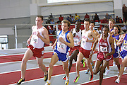 SEC Indooor Championships at University of Arkansas in Fayetteville<br /> Photos by Wesley  Hitt<br /> ©Wesley Hitt/U of ArkansasUniversity of Arkansas Razorback Track and Field Team action photography during the 2001-2002 season.