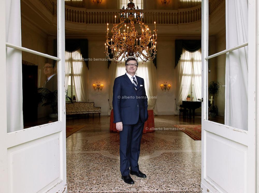 MARIO MORETTI POLEGATO, presidente fondatore GEOX scarpe