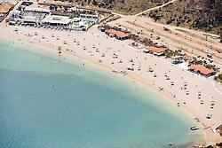 21.06.2015, Zrce, Insel Pag, CRO, Der Strand Zrće befindet sich unweit der kroatischen Stadt Novalja auf der Insel Pag in Norddalmatien. Seit der Unabh&auml;ngigkeit Kroatiens entwickelte sich der Strand Zrće zu einer Partymeile der Jugend und ist als &bdquo;Ibiza Kroatiens&ldquo; bekannt, im Bild Zrce is a long pebble beach on the Adriatic island of Pag // Zrće beach is located near the Croatian town of Novalja on Pag island in North Dalmatia. Since Croatia's independence, the beach Zrće has developed into a party area of youth and is known as the &quot;Ibiza of Croatia&quot;, pictured on 2015/06/12 in Zrce in Insel Pag, Croatia on 2015/06/21. EXPA Pictures &copy; 2015, PhotoCredit: EXPA/ Pixsell/ Dino Stanin<br /> <br /> *****ATTENTION - for AUT, SLO, SUI, SWE, ITA, FRA only*****