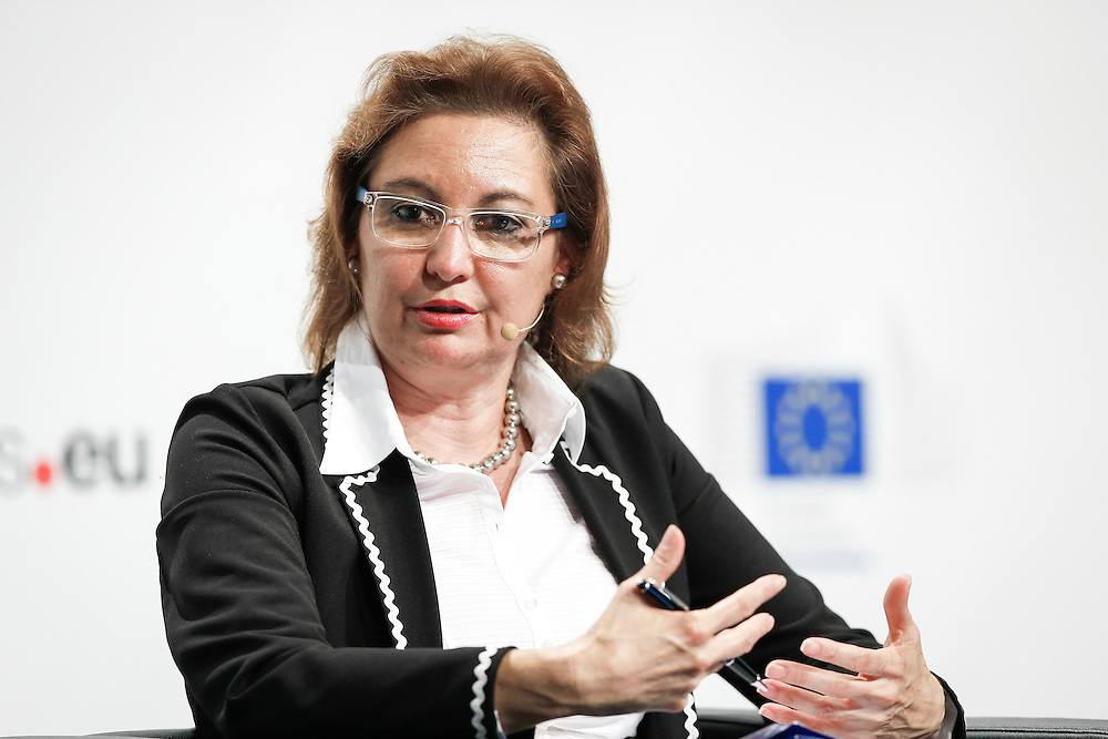 20160615 - Brussels , Belgium - 2016 June 15th - European Development Days - Harnessing the potential of migration and forced displacement for development - Laura Thompson , Deputy Director General , International Organization for Migration (IOM) © European Union