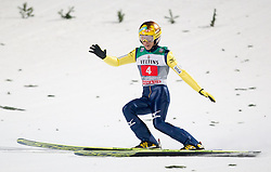 06.01.2015, Paul Ausserleitner Schanze, Bischofshofen, AUT, FIS Ski Sprung Weltcup, 63. Vierschanzentournee, Finale, im Bild Noriaki Kasai (JPN) // Noriaki Kasai of Japan during Final Jump of 63rd Four Hills <br /> Tournament of FIS Ski Jumping World Cup at the Paul Ausserleitner Schanze, Bischofshofen, Austria on 2015/01/06. EXPA Pictures &copy; 2015, PhotoCredit: EXPA/ JFK