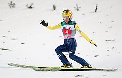 06.01.2015, Paul Ausserleitner Schanze, Bischofshofen, AUT, FIS Ski Sprung Weltcup, 63. Vierschanzentournee, Finale, im Bild Noriaki Kasai (JPN) // Noriaki Kasai of Japan during Final Jump of 63rd Four Hills <br /> Tournament of FIS Ski Jumping World Cup at the Paul Ausserleitner Schanze, Bischofshofen, Austria on 2015/01/06. EXPA Pictures © 2015, PhotoCredit: EXPA/ JFK
