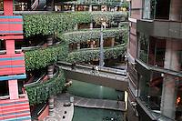 Canal City shopping center, Fukuoka, Japan, 2007.