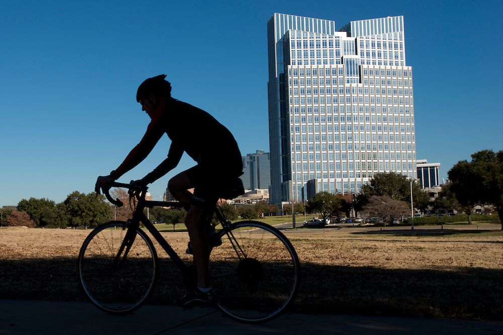 Chesapeake Plaza in Fort Worth, Texas on December 17, 2013.  (Cooper Neill / for The Texas Tribune)