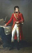 'Napoleon Bonparte as First Consul' 1803. Napoleon I (1769-1821). (Antoine) Jean Gros (1771-1835) French painter.  Musee de la Legion d'Honneur, Paris