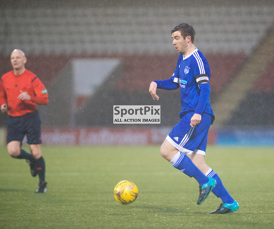 Steven Noble of Peterhead in action against Airdrie......(c) BILLY WHITE | SportPix.org.uk