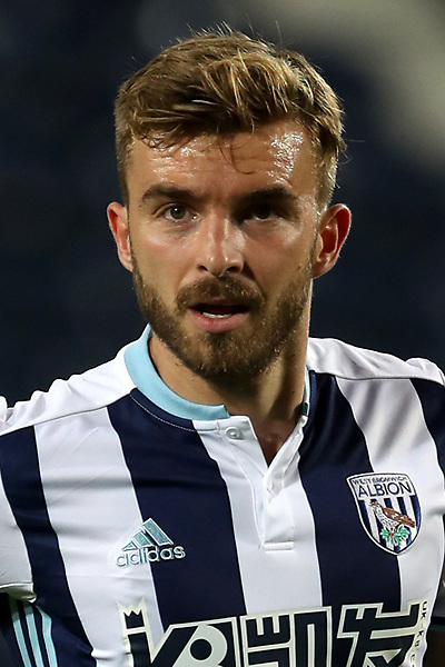 NORTHAMPTON, ENGLAND - AUGUST 23:  James Morrison of West Bromwich Albion in action during the EFL Cup second round match between Northampton Town and West Bromwich Albion at Sixfields Stadium on August 23, 2016 in Northampton, England.  (Photo by Pete Norton/Getty Images)