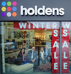 Pictured is, from left, Emma Holden, Yorkshire Bank's Commercial Relationship Manager Michael Pickles, Marion Holden and Jonathan Holden<br /> <br /> Nottinghamshire furniture retailer Holdens has upgraded its premises and opened a new 7,000 square foot flagship store with funding support from Yorkshire Bank.  As the same time, Jonathan and Marion Holden are passing the running of the firm to their daughters Emma and Katie who will become the fourth generation to run the company.<br /> <br /> Date: January 22, 2016<br /> Picture: Chris Vaughan/Chris Vaughan Photography