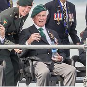 NLD/Terneuzen/20190831 - Start viering 75 jaar vrijheid, Britse Oorlogsveteraan Roy Maxwel en ooslogsveteraan Dan White