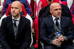 21-01-2018 NED: AFC Ajax - Feyenoord, Amsterdam<br /> Ajax was met 2-0 te sterk voor Feyenoord / Coach Erik ten Hag en Alfred Schreuder