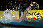 Corey Main, New Zealand Open Swimming Champs, Day 3, West Wave Aquatic center, Waitakere, Auckland. 16 April 2015. Copyright Photo: William Booth / www.photosport.co.nz