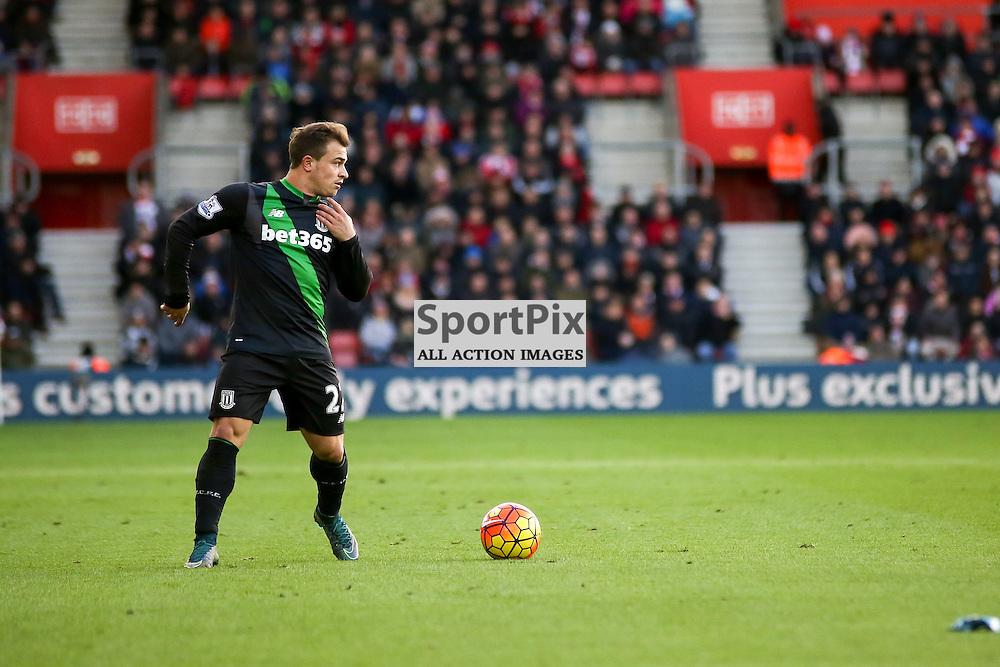 Xherdan Shaqiri During Southampton vs Stoke City on Saturday the 21st November 2015.