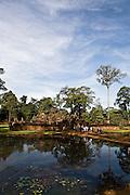Banteay Srei temple. Angkor, Siem Reap, Cambodia.