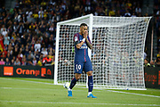 Neymar da Silva Santos Junior - Neymar Jr (PSG) missed to score during the French championship L1 football match between Paris Saint-Germain (PSG) and Toulouse Football Club, on August 20, 2017, at Parc des Princes, in Paris, France - Photo Stephane Allaman / ProSportsImages / DPPI