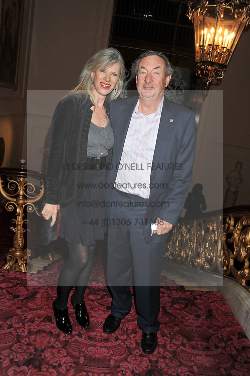 NICK & NETTE MASON at the Audi Ballet Evening held at the Royal Opera House, Bow Street, Covent Garden, London on 22nd March 2012.