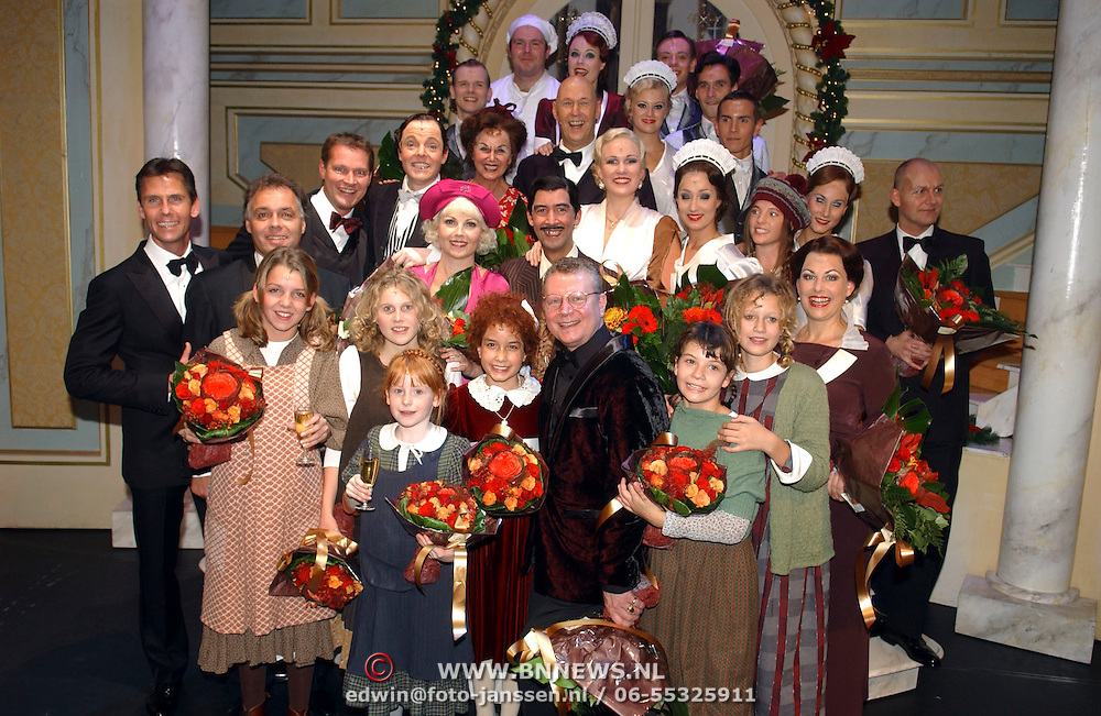 NLD/Tilburg/20051023 - Premiere musical Annie, cast, kinderen, creatives