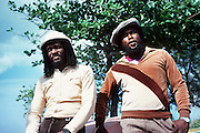 Sly and Robbie at Compass Point Studios in Nassua