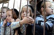 Ultra religious Neturei Karta Children, Mea Shearim, Jerusalem, Israel