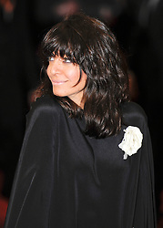 ©London News Pictures. 13/02/2011. Presenter Claudia Winkleman Arriving at BAFTA Awards Ceremony Royal Opera House Covent Garden London on 13/02/2011. Photo credit should read: Peter Webb/London News Pictures
