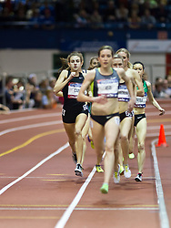 Millrose Games indoor track and field: women's mile, Mary Cain