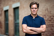 Actor Michael Shannon photographed in Chicago's Lincoln Park neighborhood.