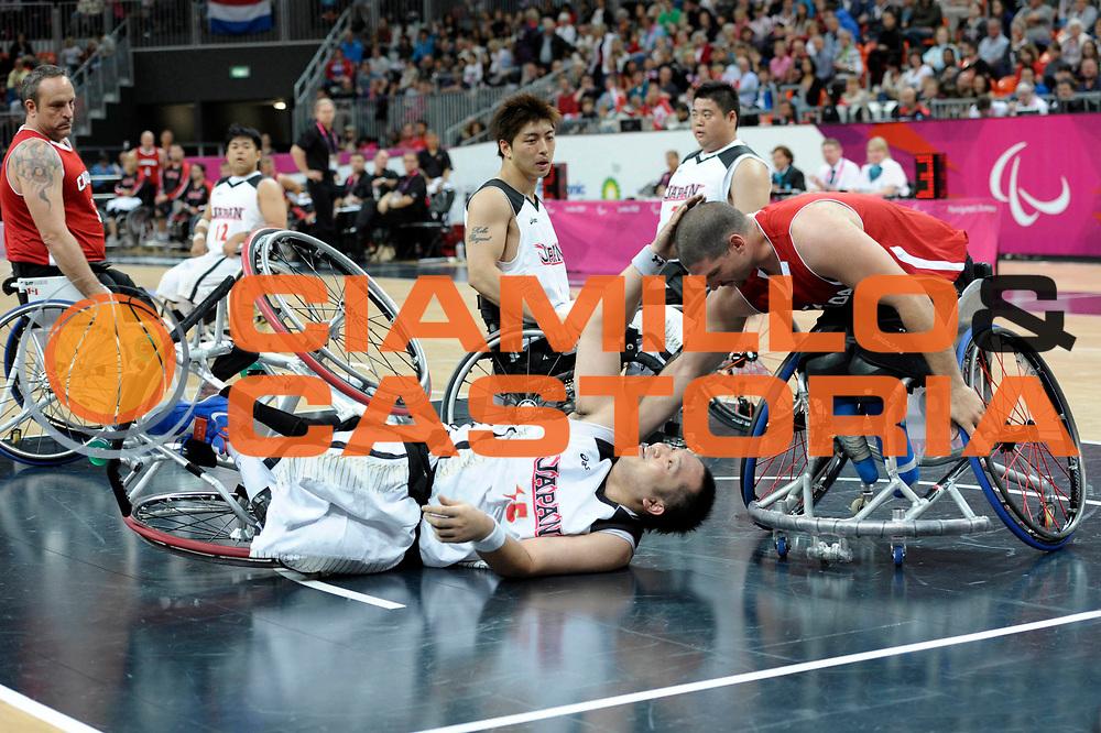 DESCRIZIONE : London Londra Paralympic Games ParaOlimpiadi 2012 Japan Canada Giappone Canada<br /> GIOCATORE :<br /> CATEGORIA :<br /> SQUADRA : Japan Canada Giappone Canada<br /> EVENTO : Paralympic Games ParaOlimpiadi 2012<br /> GARA : Japan Canada Giappone Canada<br /> DATA : 30/08/2012<br /> SPORT : Pallacanestro <br /> AUTORE : Agenzia Ciamillo-Castoria/G.Fiolo<br /> Galleria : London Londra Paralympic Games ParaOlimpiadi 2012 <br /> Fotonotizia : London Londra Paralympic Games ParaOlimpiadi 2012 Japan Canada Giappone Canada<br /> Predefinita :