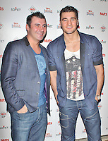 LONDON - December 06: Joe Calzaghe & Nathan Cleverly at the Soviet Nuts Awards Party (Photo by Brett D. Cove)