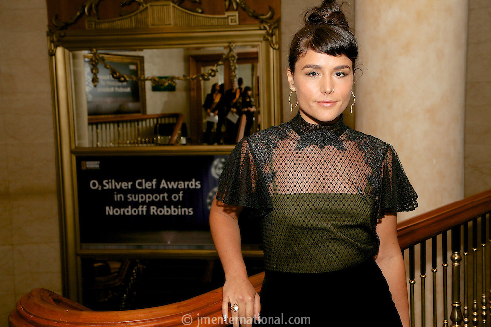 Jessie Ware. The Silver Clef Lunch 2013 in aid of  Nordoff Robbins held at the London Hilton, Park Lane, London.<br /> Friday, June 28, 2013 (Photo/John Marshall JME)