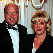 Nieuwjaarsreceptie Strengholt 1998, Gaston Starreveld en vrouw Patricia
