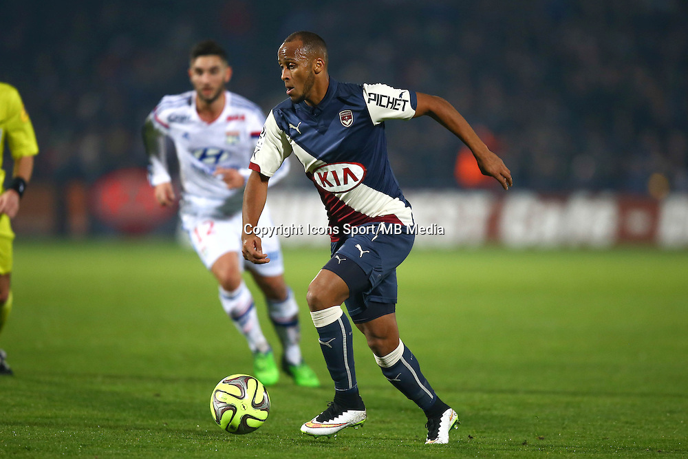Thomas TOURE - 21.12.2014 - Bordeaux / Lyon - 19eme journee de Ligue 1 -<br />