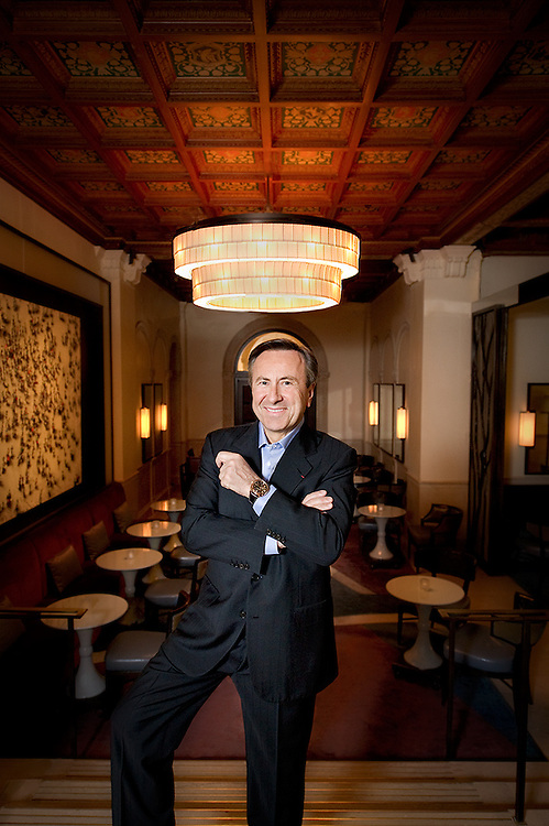 Chef Daniel Boulud Portraits of top chefs, renowned restaurants, tastes and nightlife in New York City