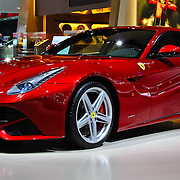 """""""2013 Red Ferrari""""<br /> <br /> A beautiful deep red 2013 Ferrari F12 Berlinetta! Fast, luxurious, and oh so hot!!<br /> <br /> Cars and their Details by Rachel Cohen"""