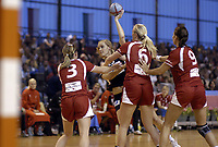 Håndball<br /> Foto: Dppi/Digitalsport<br /> NORWAY ONLY<br /> <br /> PARIS ILE DE FRANCE TOURNAMENT 2006 - PARIS (FRA) - 03 TO 05/11/2006<br /> <br /> Norge v Danmark<br /> DENMARK V NORWAY (WINNER) - MARIT MALM FRAFJORD (NOR)