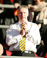 Photo: Lee Earle.<br /> Southampton v Hull City. Coca Cola Championship. 04/11/2006. Hull chairman Adam Pearson.